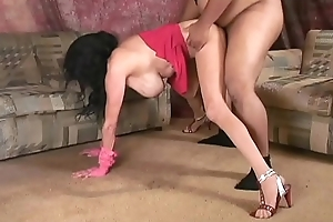 Mom'_s Pantyhosed Lapdance Pertain