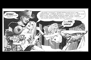 Thin Powered Woman Giant Blarney Comics