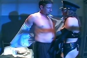 Female cop forth uniform fucking forth latex lingerie