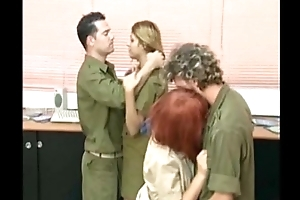 israeli soldiers having an orgy in tha base