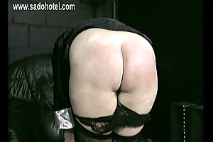 Horny naught nun is wariness how varied days she is spanked mainly her ass and begs for acquittal