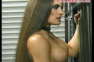 Anal strapon bisexual fuck