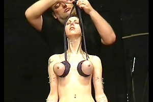 Throat Needle torments And Extreme Tit Punishments To Tears Of Perforated Emily