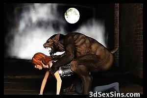 3D Demons Fuck Hawt Babes!