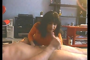 Arab Unspecific Masturbate plus give head to her sponger