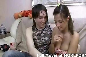 Dilettante teen porn video