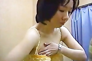 Women in an unmentionables conversion room