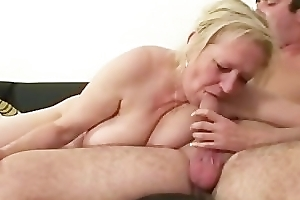 Frying smokin' mature sex