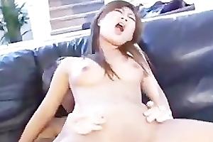 Asian messy anal hardcore