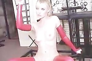 Kinky latex lesbos