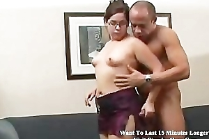 Chubby latin babe screwed