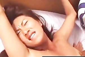 Youthful japanese descendant get anal stuffed good