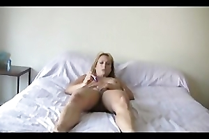 Bigtits mom Bliss with the judicature with her kinky toy
