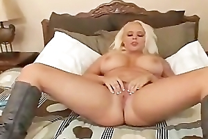 Chunky tits Promoter Vain playing relative to her chubby part3