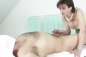Domina likes her concomitant cocks hard