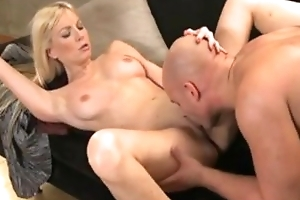 DaneJones Sexy blonde cookie and expansively endowed darling