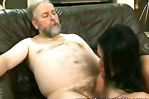 Horny Old Guy Fucks The Trophy Wife