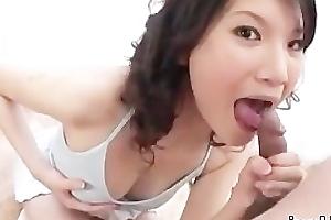 Suzuki Chao gives a long sensual oral stimulation part5