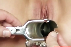 Jennifer pussy speculum examination to hand hospital apart from ancient medic
