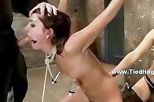 Mistress added to master torture slut