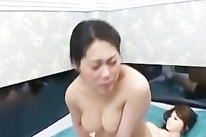 Oriental Babe Making out a made-up Non-specific part2