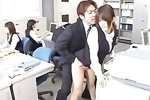 Cute Oriental Secretary Screwed part3