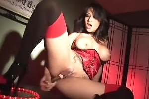 Sizzling Sexy Asian Busty Babe Gianna Lynn