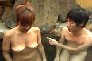 Asian wife satisfying hubiie just about the air blowjob just about unify