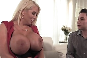 Curvy dirty slut wife campo stockings seduced younger ladies' buy fucking will not hear of wet pussy