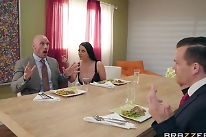 Brazzers housewife seduced their way husband's business coadjutor
