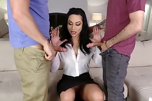 Hot Russian MILF banged by her stepson added to his best friend