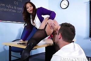 Unsightly teacher seduced Winning b open into fucking their way asshole