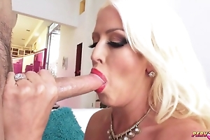 Thick XXX mature with massive tits and aggravation gets anal