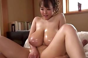 Stunning Asian girl shows off their way smashing cock handling adeptness