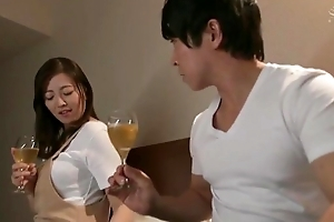Beautiful Oriental housewife receives an sharp-witted love tunnel pounding