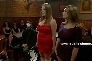 Busty bitch gets her frowardness and vagina destroyed in total destruction bondage sexual relations