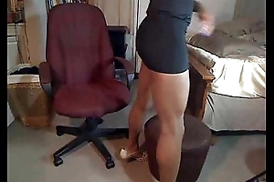 ebony transsexual exceeding web camera