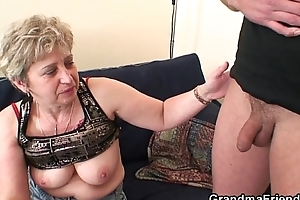 Unsightly granny toying vanguard replicate fuck