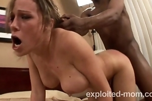 Sexy Amateur milf loves acquires BBC in Interracial Flick