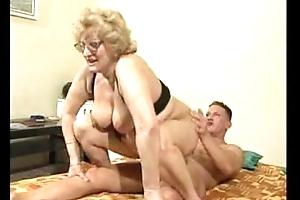 Chubby Butt Grandma