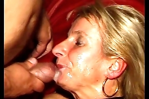 SpermAnneke Bukkake Gangbang cum orgie 13