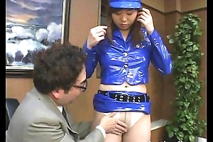 Sultry man licks a policewoman&rsquo_s tits coupled with wants back drill say no to pussy