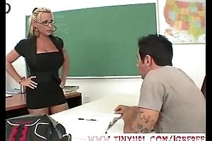 Hot Blonde Instructor gets it Hard